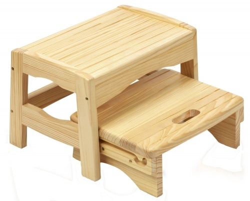 Wooden 2 Step Stool