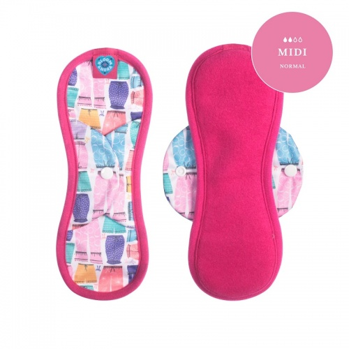 Bloom Reusable Sanitary Pad- Midi