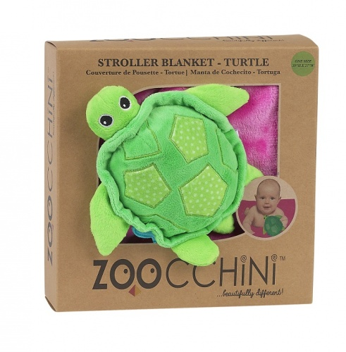 Zoocchini Buddy Blanket - Turtle