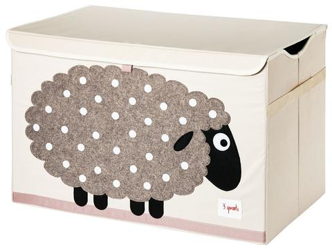 3 Sprouts Toy Storage Chest - Sheep