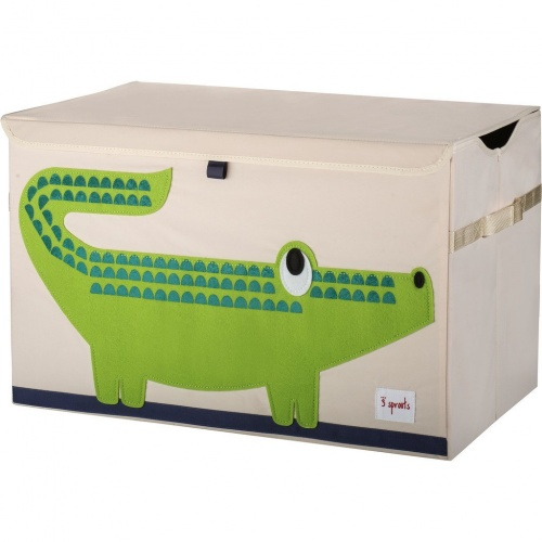 3 Sprouts Toy Storage Chest - Crocodile