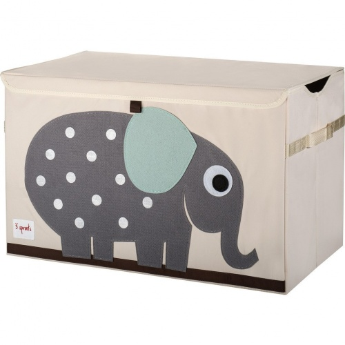 3 Sprouts Toy Storage Chest - Elephant
