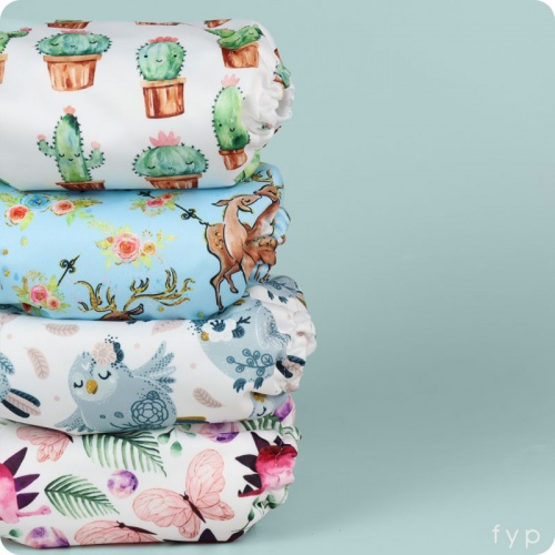 Mama Koala Nappy 4 Pack - Blooming Lovely