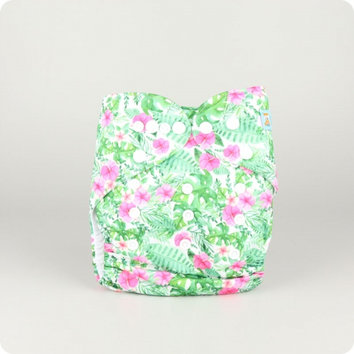 Alva Baby One Size Nappy - Tropic