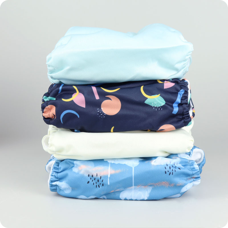 PEPI COLLECTION ONE SIZE POCKET NAPPY BUNDLE