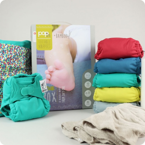 Close Pop-In Nappy v2 - 10 Pack Brights
