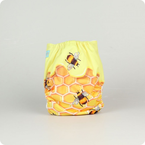 Alva Baby One Size Nappy - Honeypot