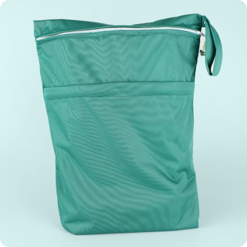 Little Lamb Double Wet Nappy Bag - Large