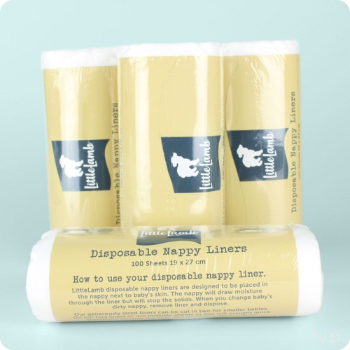 Little Lamb Paper Liners- 4 Pack