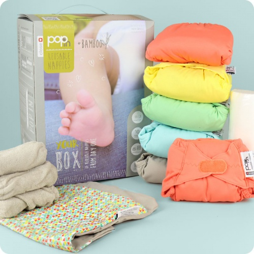 Close Pop-In Nappy v2 - 10 Pack Pastels