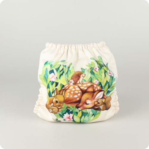 Mama Koala One-Size Pocket Nappy - Fawn