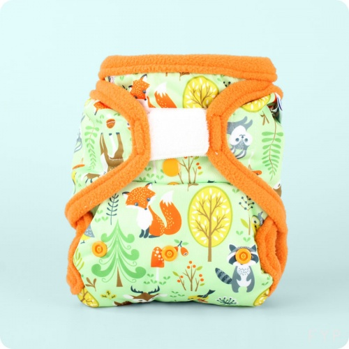 Petit Lulu Snap in One Nappy- Hook & Loop