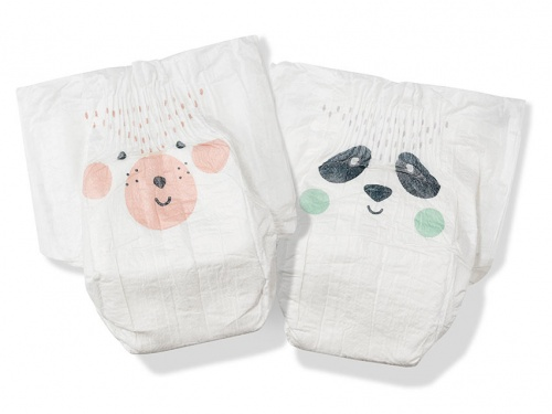 Kit & Kin Nappies Eco Disposable Nappies - Mini - Size 1