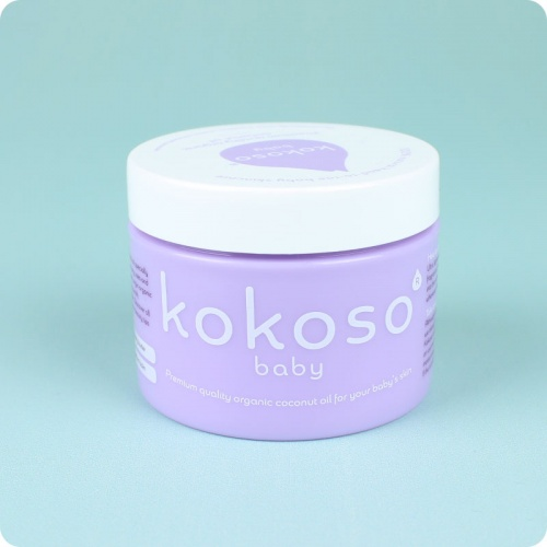 Kokoso Baby Coconut Oil- Mini Pot