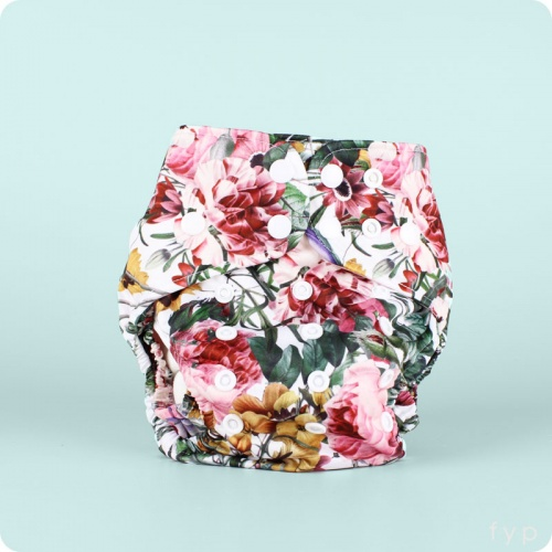 Bare & Boho One-Size Nappy - Bamboo