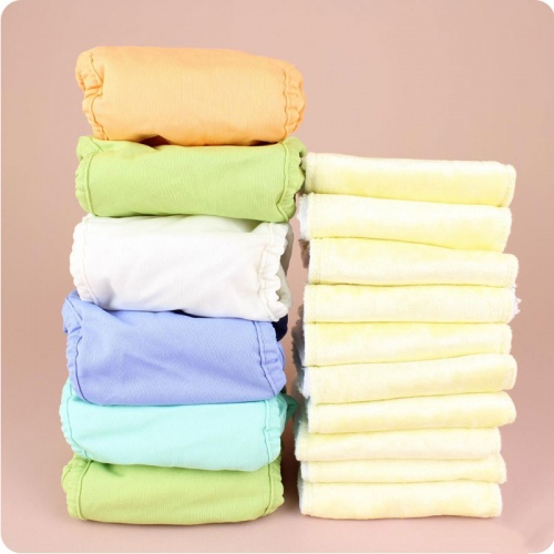 Close Newborn Nappy Pack