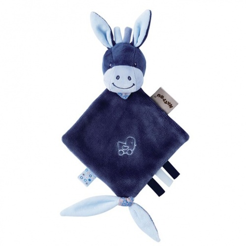 Nattou Mini Comforter - Alex the Donkey