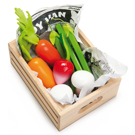 Le Toy Van Crate of Harvest Vegetables