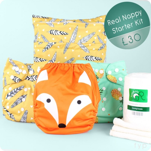 Reusable Nappy Starter Pack