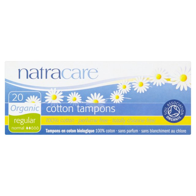 Natracare Organic Tampons - Regular