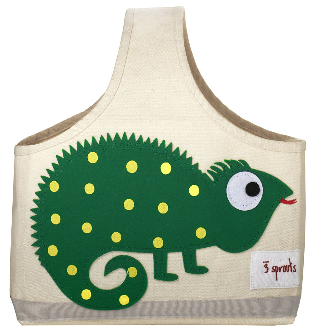 3 Sprouts Storage Caddy - Green Iguana