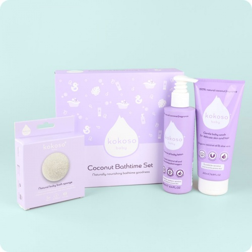 Kokoso Baby Bathtime set