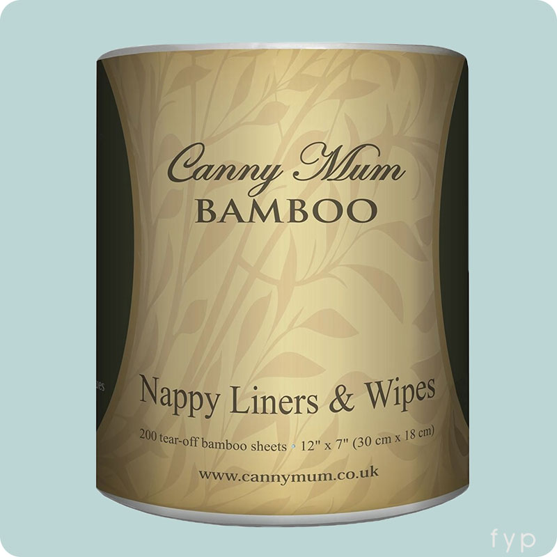 Cannymum Bamboo Nappy Liners & Wipes - 200pk