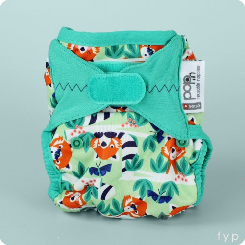 Close Pop-In Nappy Wrap - Hook & Loop