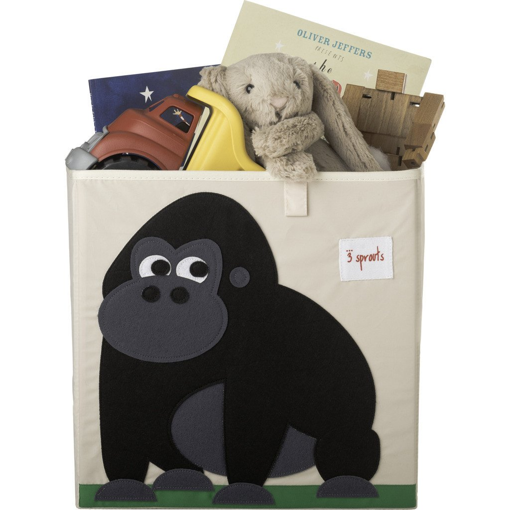 3 Sprouts Storage Box- Gorilla