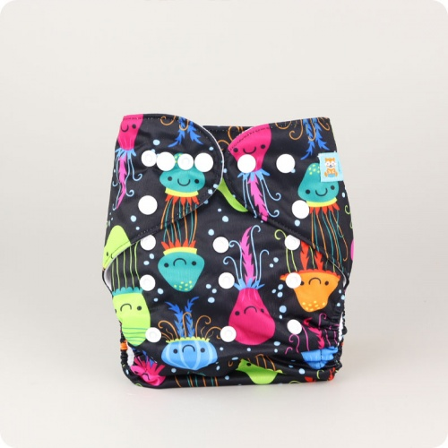 Alva Baby One Size Nappy - Jolly Jellies