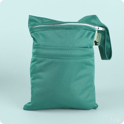 Little Lamb Double Wet Nappy Bag - Small
