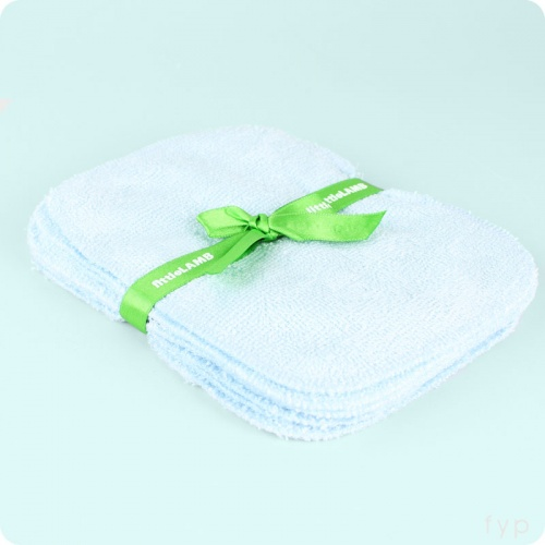 Little Lamb Bamboo Wipes - Duck Egg