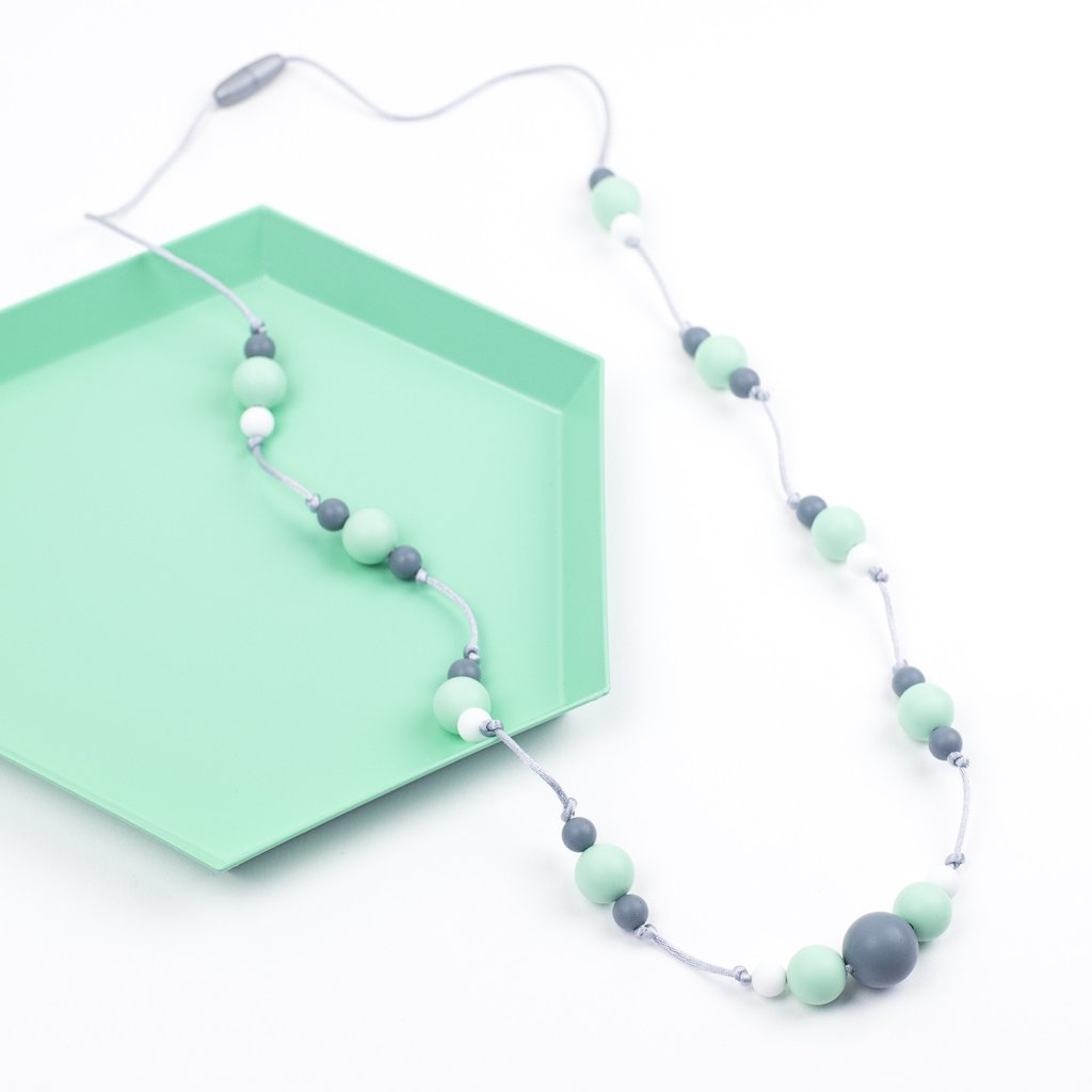Little Magpies Ophelia Necklace- Mint