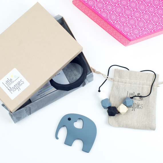 Little Magpies Teething Jewellery Gift Set