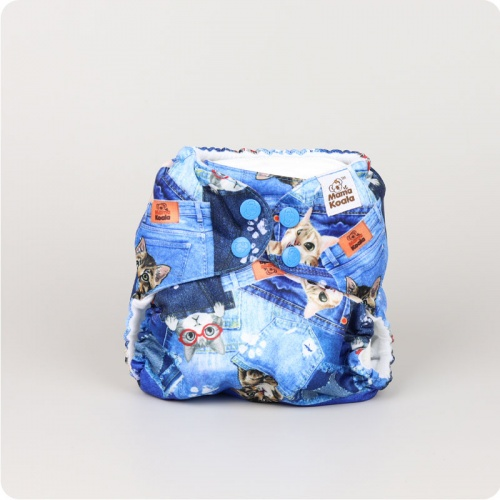 Mama Koala One-Size Pocket Nappy - Peepo!