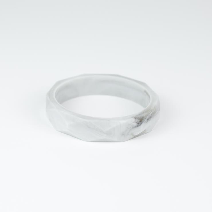 Little Magpies Silicone Bangle- Marble