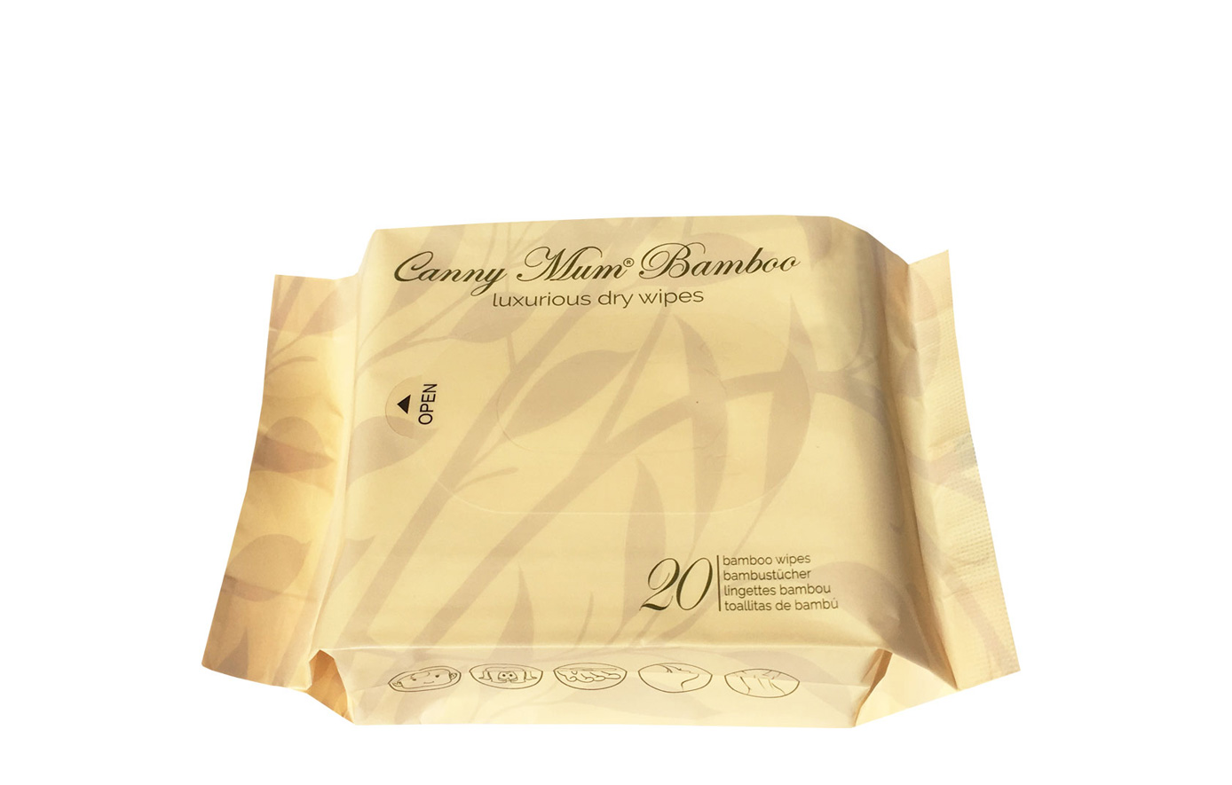 Cannymum Luxurious Bamboo Dry Wipes