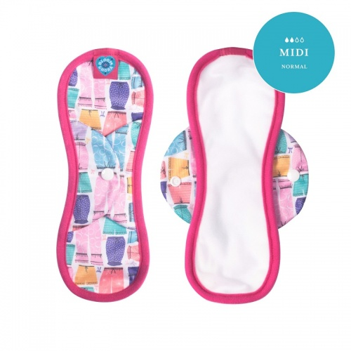 Nora Reusable Sanitary Pad- Midi