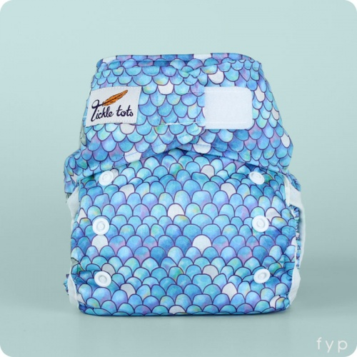 Tickle Tots 2's- Hybrid Nappy