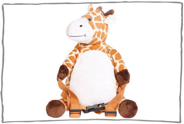 BoBo Buddies Backpack with Reins- Giraffe