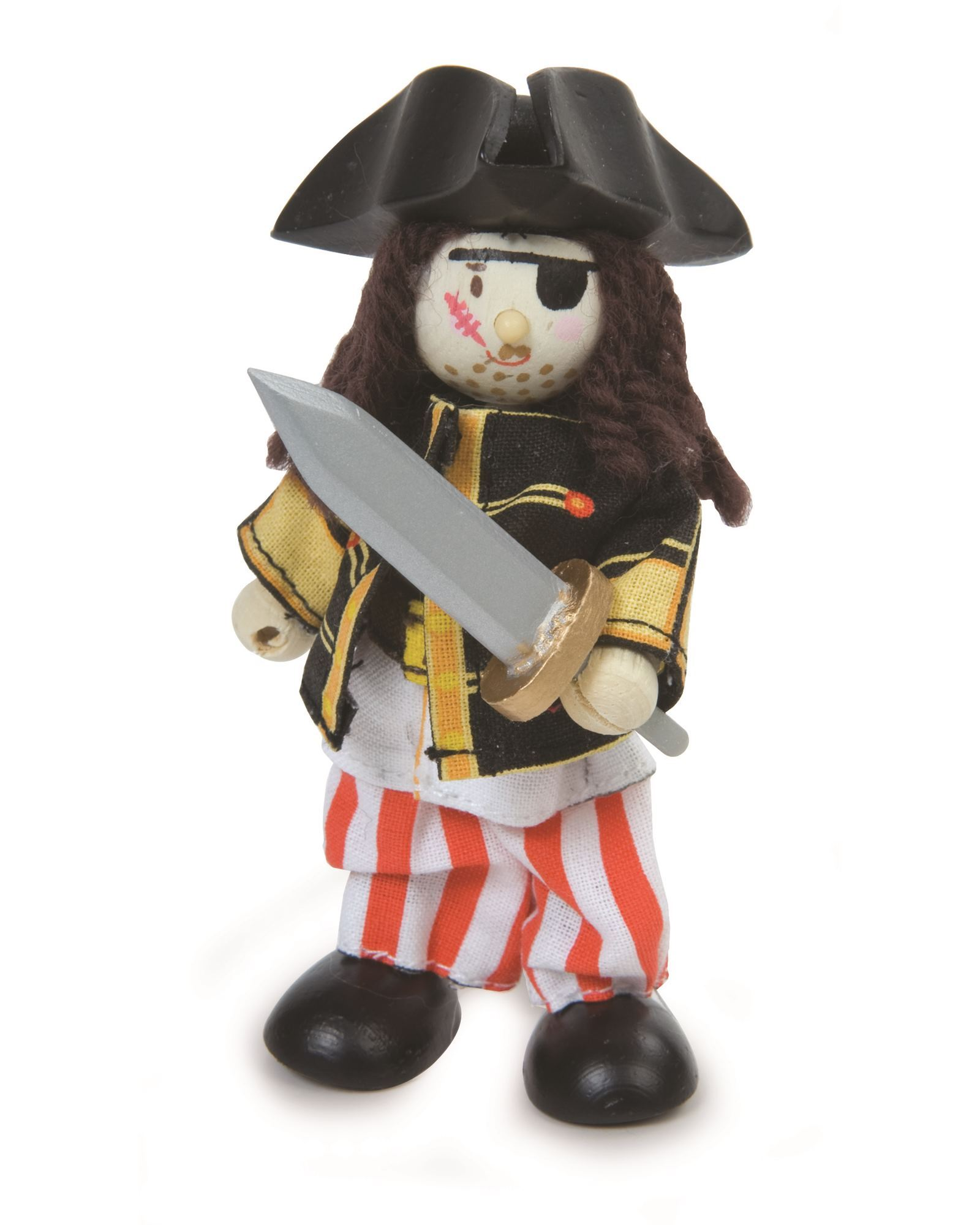Le Toy Van Budkins- Sammy the Pirate