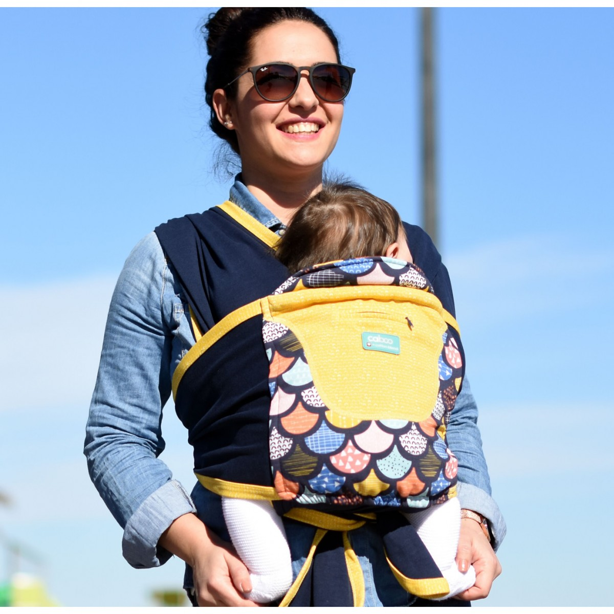Caboo Baby Carrier- Prints