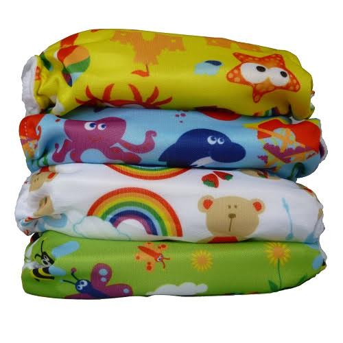 Wonderoo One Size Nappies- Prints