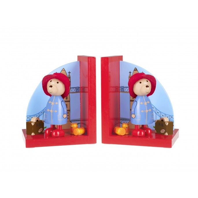 Orange Tree Wooden Paddington Bookends