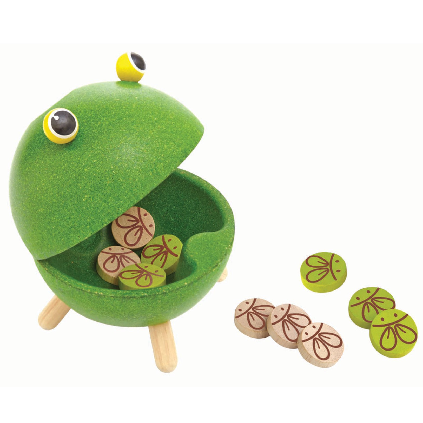 Plan Toys Feed-A-Frog Game