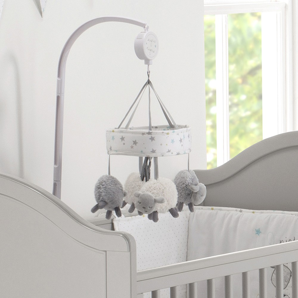 Silvercloud Counting Sheep Cot Mobile