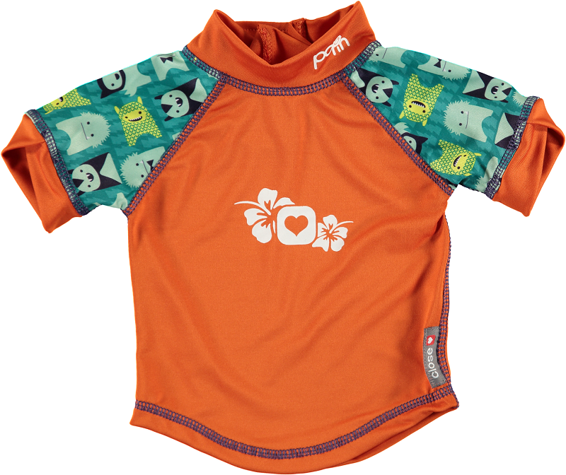 Pop In Rash Vest - Monster Herman