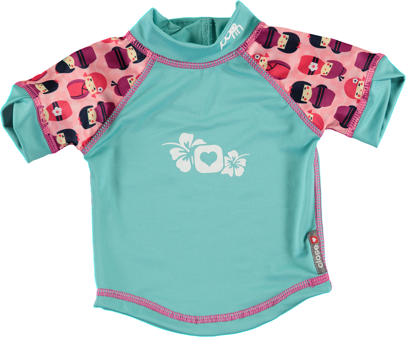 Pop In Rash Vest - Kokeshi Doll