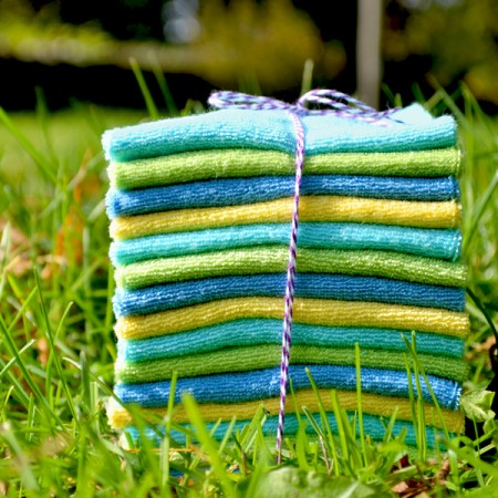 how to make reusable baby wipes