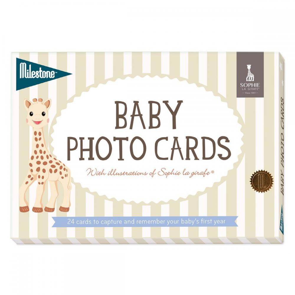 Sophie the Giraffe® Baby Cards by Milestone™